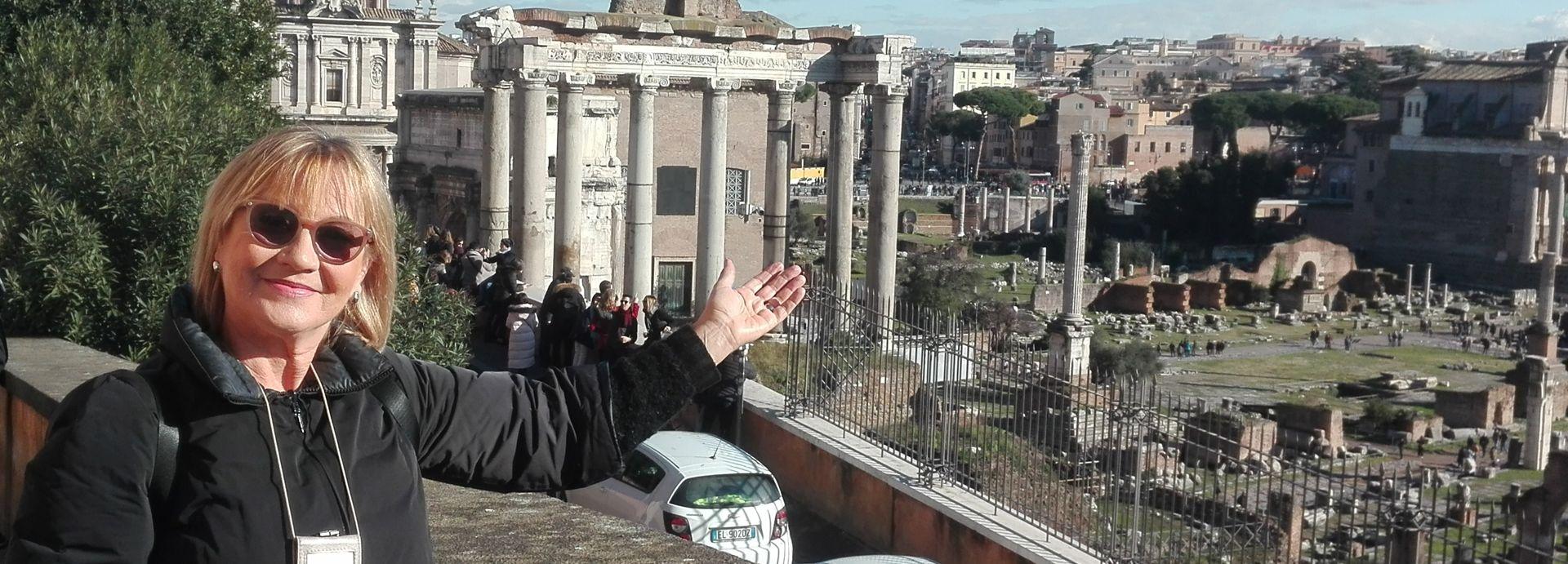 Aleksandra Marzyńska - Autoryzowany przewodnik po Rzymie i Watykanie